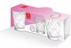 Bormioli Rocco 3x Kaleido waterglazen set 240 ml transparant - Keukenbenodigdheden - Glazen - Drinkglazen