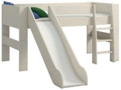 DS Style Halfhoogslaper Kids XL 90x200cm in wit whitewash