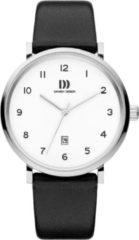 Zilveren Danish Design watches edelstalen herenhorloge Yukon Silver White Large IQ12Q1216