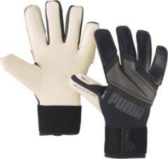 Witte Puma Ultra Grip 1 Hybrid Pro Black/Asphalt - Keepershandschoenen - Maat 7