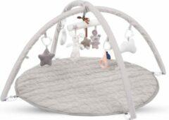 Grijze Kidwell Babygym met 8 speeltjes - 85 x 85 x 50 cm