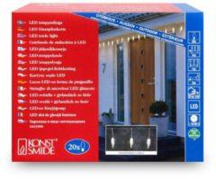 Gnosjoe Konstsmide GmbH Gnosjoe Konstsmide Konstsmide Icicle lightset 20 LED 20Lampen Für die Nutzung in Außenbereich geeignet LED Transparent 2739-103
