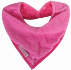 Roze Silly Billyz Cuddly fleece bandana slab fuchsia