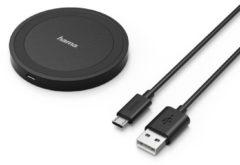 Hama Inductielader 1000 mA Qi Wireless Charger Essential Line 173674 Uitgangen Qi-standaard Zwart
