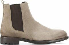 Taupe Stefano Lauran Mannen Leren Boots - S3004 - 41