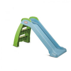 Groene Little Tikes First Slide glijbaan (122x49x70 cm)