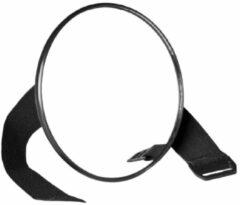 Zwarte Jippie's - Autospiegel groot - Zwart