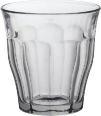 Transparante Duralex Picardie Waterglas klein - 160 ml - Gehard glas - 6 stuks
