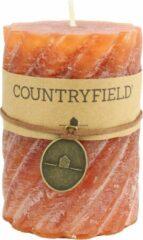 Countryfield Stompkaars met ribbel Roest Ø7 cm | Hoogte 10 cm