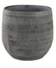 Grijze Ter Steege Pot esra mystic grey bloempot binnen 18 cm