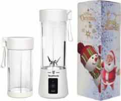 Easyblender- Blender- Easyblends Pro- Wit- Extra cup- Draagbaar- Kersteditie- Kerstcadeau