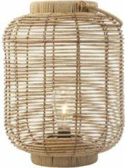 Beige Gusta® Gusta Rotan lantaarn met LED ⌀ 24cm
