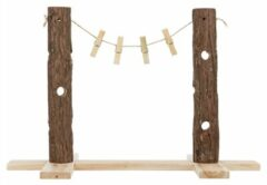 Trixie Natural Living Voerboom Duo - Ruif - 53x34x25 cm