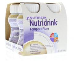 Nutridrink Compact fibre mokka 125 ml 4 Stuks
