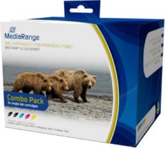 Huismerk MediaRange Inkt Cartridges Voor Brother LC-123 Series - Set 5