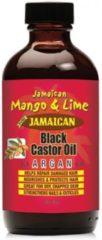 Jamaican Mango Lime JAMAICAN MANGO & LIME BLACK CASTOR OIL WITH ARGAN FOR DAMAGE HAIR 4oz