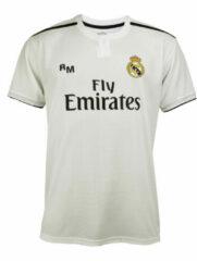 Witte Holland Real Madrid Thuisshirt Eigen Naam 2019-2020 Senior