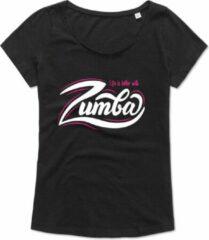 Zwarte Kemtees Zumba T-shirt - oversized - Workout T-shirt - Dance T-shirt, dans t-shirt, sport t-shirt, Gym T-shirt, Lifestyle T-shirt