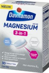 Davitamon Magnesium Triple Layer - Magnesium tabletten - 30 stuks