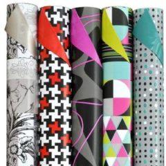 Benza Trendy - Luxe Cadeaupapier - Inpakpapier - Extra lang - 300 x 70 cm - 5 rollen