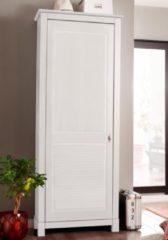 Home affaire Garderobenschrank »Rauna«, 1-türig, Breite 77 cm, aus massiver Kiefer