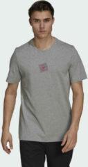 Grijze Adidas Five Ten Heritage Logo T-shirt