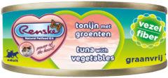 Renske Vers Kat Vezel 70 g - Kattenvoer - Tonijn&Groente