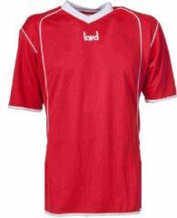 KWD Sportshirt Victoria - Voetbalshirt - Kinderen - Maat 164 - Rood/Wit
