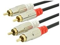 Ednet Audiokabel - RCA x 2 (M) bis RCA x 2 (M) 84591