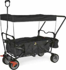 Blauwe Tweedekans | Pinolino Bolderwagen Inklapbaar Paxi dlx Comfort met remmen zwart