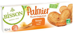 Bisson Palmier Bladerdeegkoekjes Bio (100g)