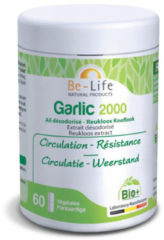 Be-Life Garlic 2000 bio 60 Softgel