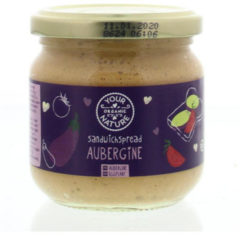 Your Organic Nat Sandwichspread aubergine 180 Gram