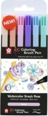 Sakura Koi Coloring Brush Pen set 6 - Sweets