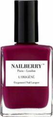 Roze Nailberry L'Oxygéné Nagellak 12 Free - Raspberry