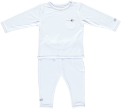 Witte Puckababy Sleepwear Pyjama's Tencel 12-18 maanden