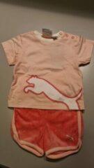 Puma set roze maat 74 (6-9 maanden) shirt met broekje