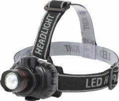 Quano LED Hoofdlamp - Igory Xixo - Waterdicht - 50 Meter - Kantelbaar - 1 LED - 1.8W - Zwart | Vervangt 10W