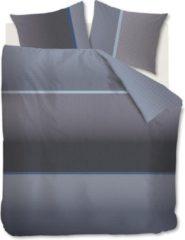 Blauwe Kardol & Verstraten Kardol Alluring Dekbedovertrek - Lits-jumeaux (240x200/220 Cm + 2 Slopen) - Katoen Satijn - Blue