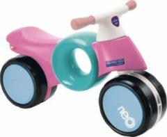 Lichtblauwe Imaginarium NEOMOTO PINK - Loopfiets met Brede Wielen - Vanaf 18 Maanden - Pink