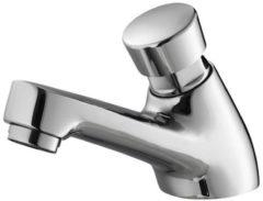 Douche Concurrent Toiletkraan Delay Laag Zelfsluitend Rond Chroom