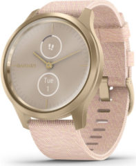 Garmin vivomove Style Champagne-Dust Rose, Fabric Smartwatch Roze