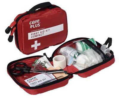 Afbeelding van Care Plus EHBO set - Compact - Kit First Aid voor thuis, onderweg of op het werk. 40 artikelen