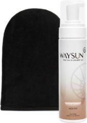 Waysun® - Deep Dark Mousse - Tanning Mitt - Zelfbruiner - Donker - Zelfbruiner gezicht - Mousse - Zelfbruiner spray - Dark - Zelfbruiners - Zelfbruiner mousse - Huidverzorging - Ultra dark - Verzorgingsproducten - Verzorgingsproducten dames geschenk