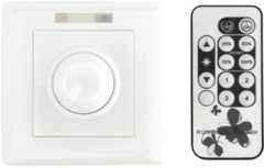 Witte Groenovatie LED Dimmer 230V - Fase aansnijding - 2W-300W - Incl. Afstandsbediening