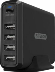 Sitecom CH-017 oplader voor mobiele apparatuur Binnen Zwart