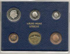 's Rijks Munt Nederland Jaarset Munten 1977 FDC