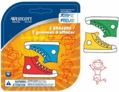 Gum Westcott Sneakers 2 stuks op blister