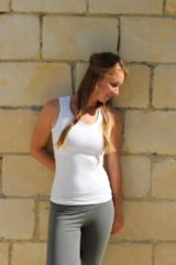 Lively collection Yoga top-Sport Top, Tank top-hemd-wit-Large