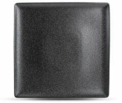 Zwarte Fine2Dine F2D dinerbord Dusk (26x26 cm)